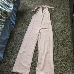 ZARA Basic Pale Pink Jumpsuit